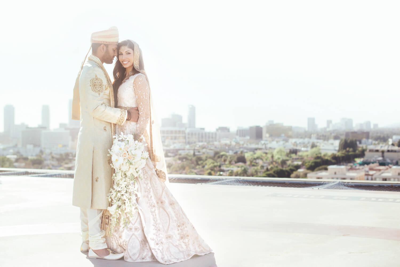 Farrah and Zaf's wedding