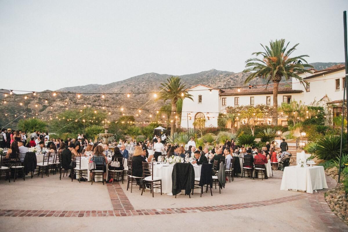 The anatomy of the perfect Wedding reception program