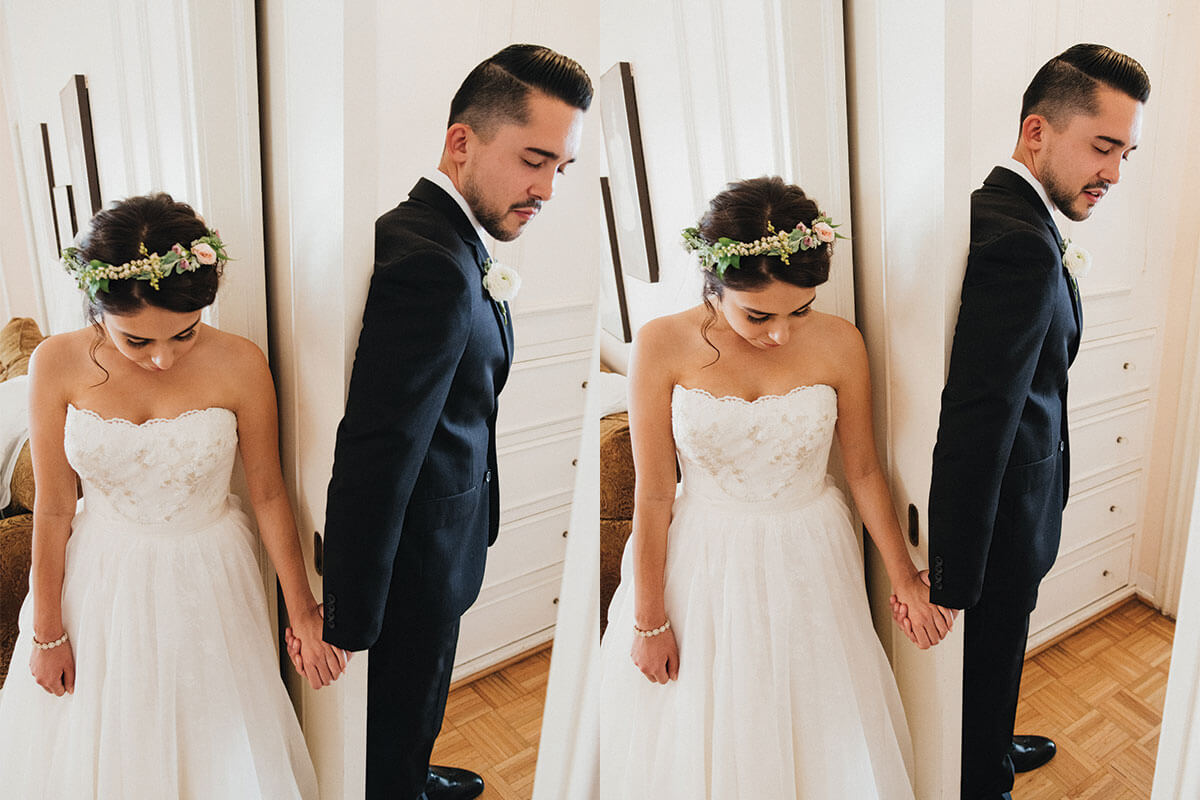 what is a first look wedding