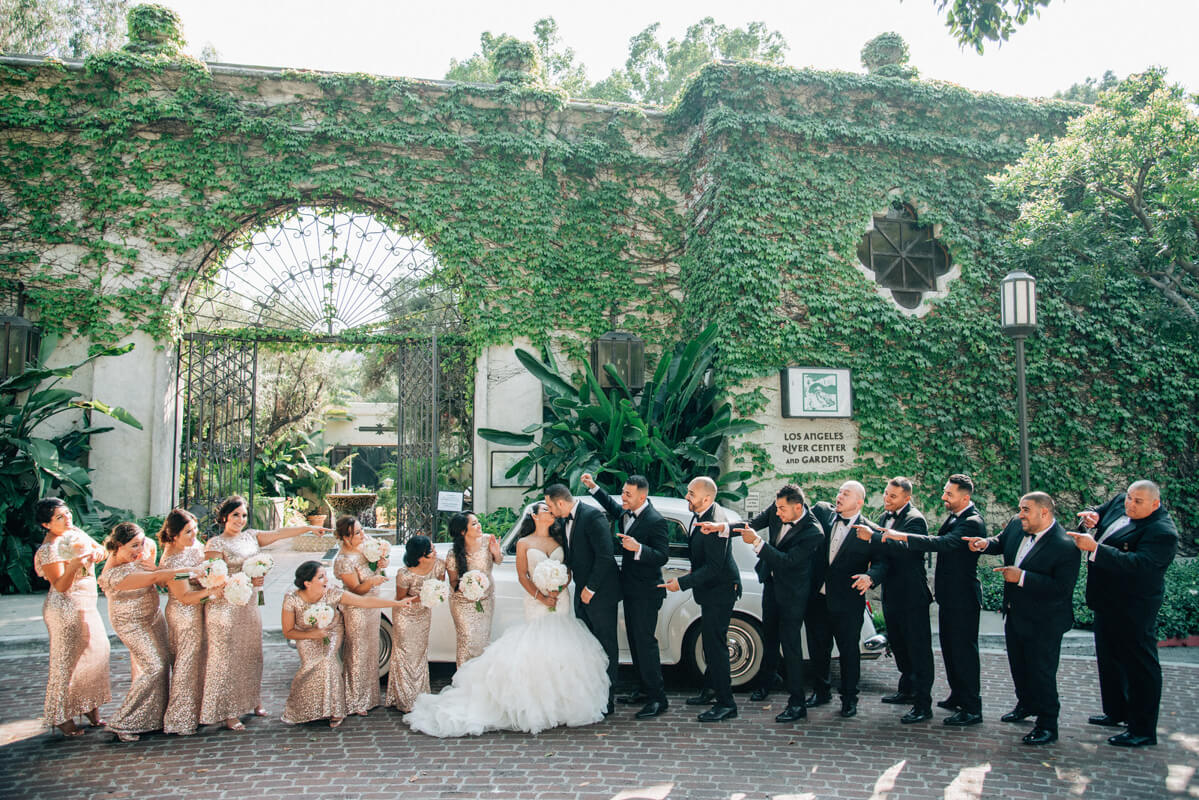 Complete Guide to LA River Center and Gardens Wedding!
