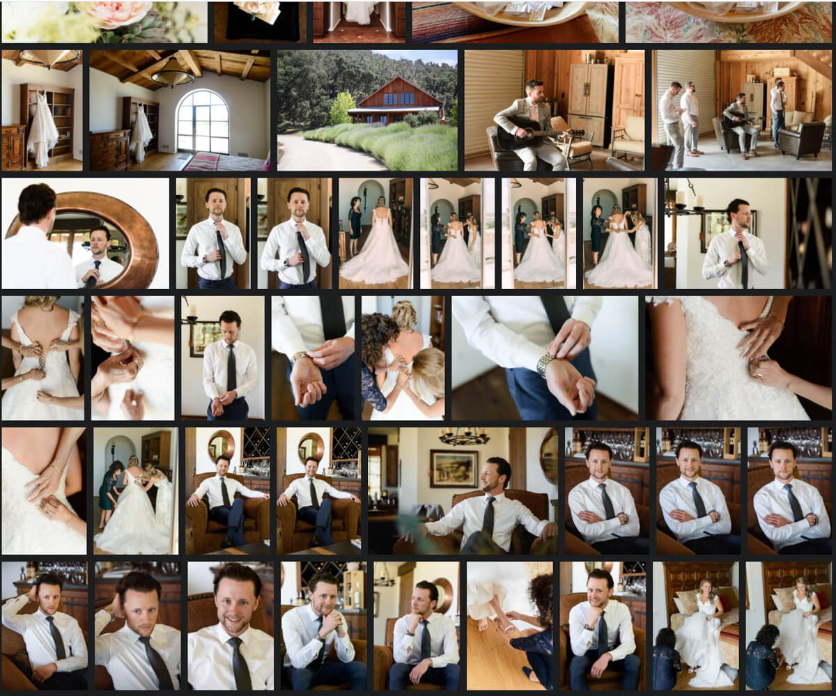 questions to ask wedding photographer