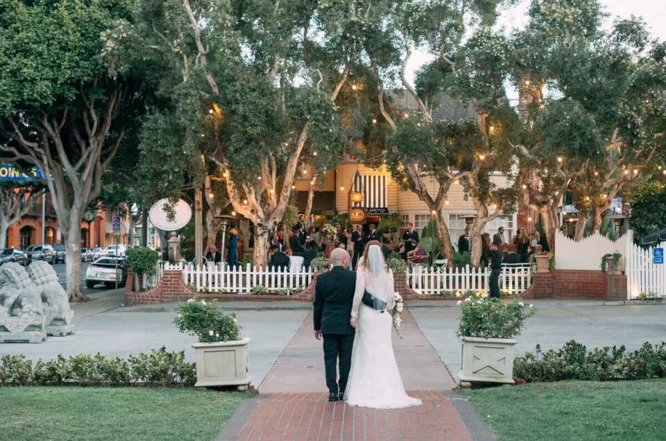 Complete GUIDE to the Victorian Santa Monica wedding!
