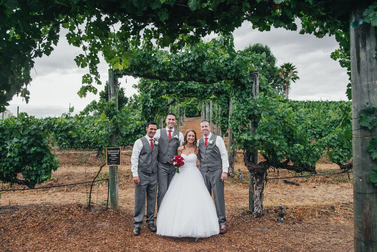 wilson creek winery wedding